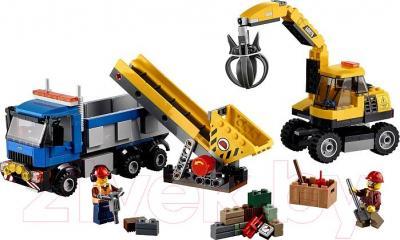 Конструктор Lego City Экскаватор и грузовик (60075) - общий вид