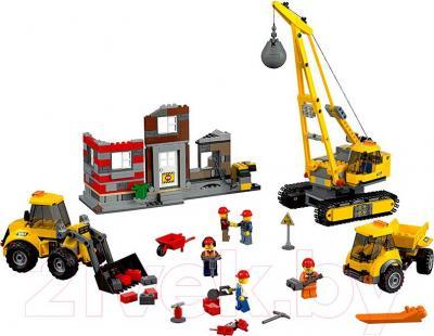 Конструктор Lego City Снос старого здания (60076) - общий вид