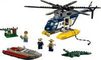 Конструктор Lego City Погоня на полицейском вертолёте (60067) -