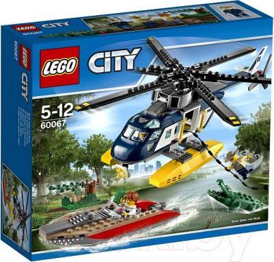 Конструктор Lego City Погоня на полицейском вертолёте (60067) - упаковка