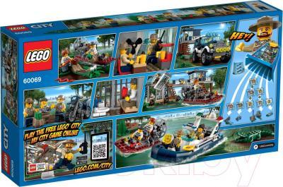 Конструктор Lego City Участок новой Лесной Полиции (60069) - упаковка
