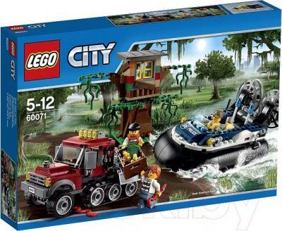 Конструктор Lego City Полицейский корабль на воздушной подушке (60071) - упаковка