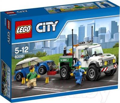 Конструктор Lego City Буксировщик автомобилей (60081) - упаковка