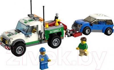 Конструктор Lego City Буксировщик автомобилей (60081) - общий вид