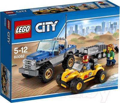 Конструктор Lego City Перевозчик Песчаного Багги (60082) - упаковка