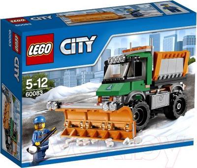 Конструктор Lego City Снегоуборочный грузовик (60083) - упаковка