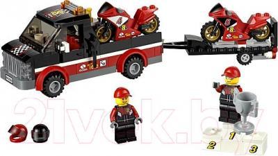 Конструктор Lego City Перевозчик гоночных мотоциклов (60084)  - общий вид