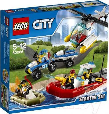 Конструктор Lego City Набор для начинающих (60086) - упаковка