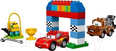 Конструктор Lego Duplo Гонки на Тачках (10600) - общий вид