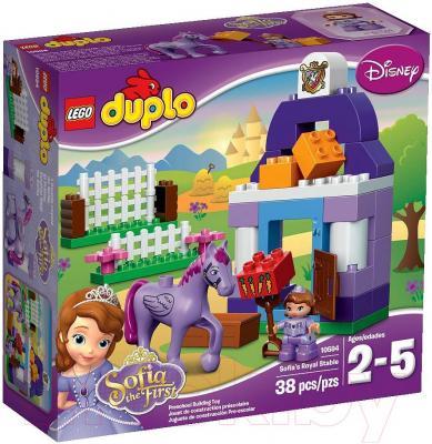Конструктор Lego Duplo София Прекрасная: королевская конюшня (10594) - упаковка