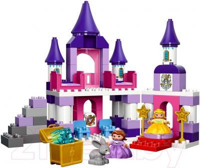 Конструктор Lego Duplo София Прекрасная: королевский замок (10595) - общий вид