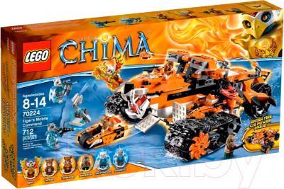 Конструктор Lego Chima Передвижной командный пункт Тигров (70224) - упаковка