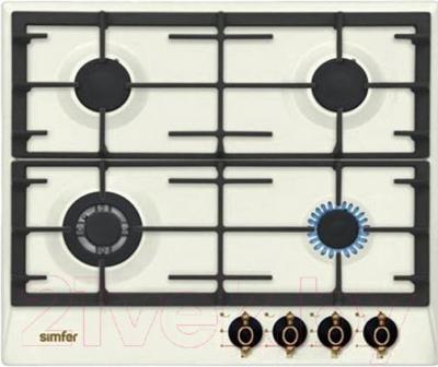 Газовая варочная панель Simfer H60V41O501 - общий вид