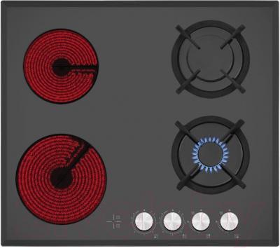 Комбинированная варочная панель Simfer H60N26B501 - общий вид