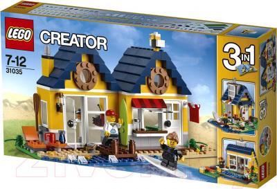 Конструктор Lego Creator Домик на пляже (31035) - упаковка