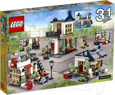 Конструктор Lego Creator Магазин по продаже игрушек и продуктов (31036) - упаковка