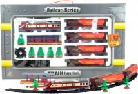 Железная дорога детская Fenfa Поезд с четырьмя цистернами (1601B-2A) -