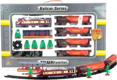 Железная дорога детская Fenfa Поезд с четырьмя цистернами (1601B-2A) - общий вид