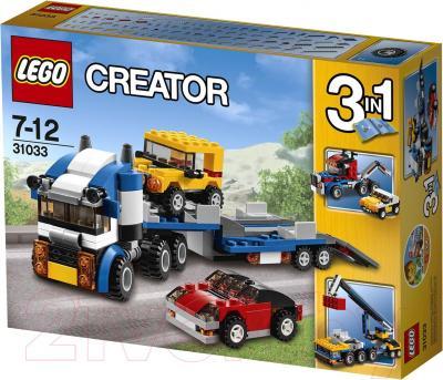 Конструктор Lego Creator Автотранспортер (31033) - упаковка