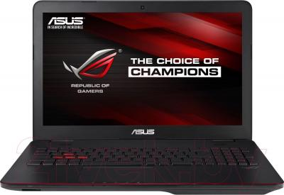 Ноутбук Asus G551JM-CN021D - общий вид