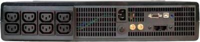 ИБП Tripp Lite SMX1500LCD - вид сзади