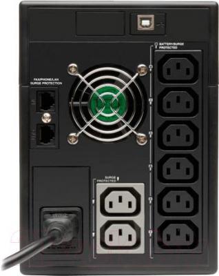ИБП Tripp Lite SMX1500LCDT - вид сзади