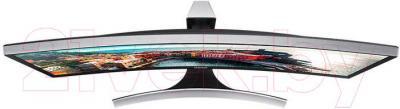 Монитор Samsung S34E790C (LS34E790CN/CI) - вид сверху