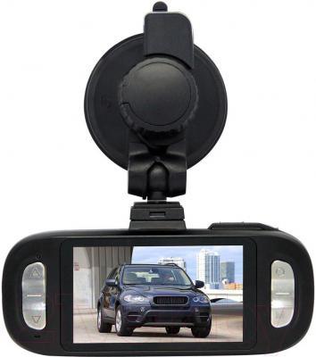 Автомобильный видеорегистратор AdvoCam FD8 GPS (Black) - с креплением