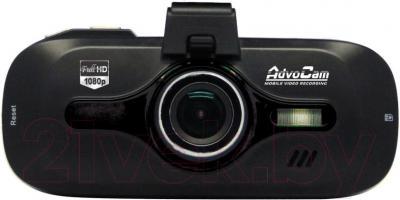 Автомобильный видеорегистратор AdvoCam FD8 GPS (Black) - фронтальный вид