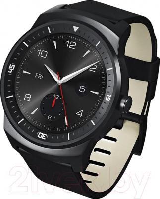 Интеллектуальные часы LG G Watch W110 (Black) - общий вид
