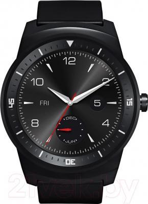Интеллектуальные часы LG G Watch W110 (Black) - фронтальный вид