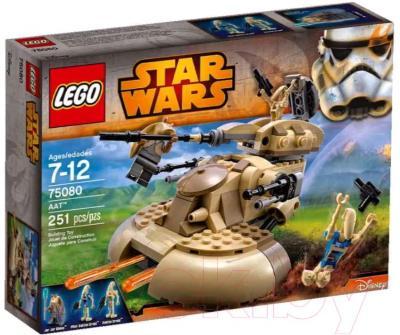 Конструктор Lego Star Wars Бронированный штурмовой танк AAT (75080) - упаковка