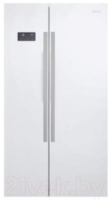 Холодильник с морозильником Beko GN163120X - общий вид