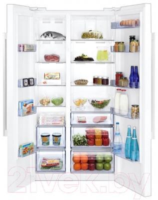 Холодильник с морозильником Beko GN163120X - внутренний вид