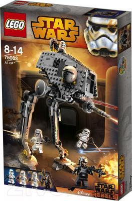 Конструктор Lego Star Wars Вездеходная Оборонительная Платформа AT-DP (75083) - упаковка