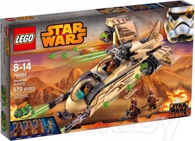 Конструктор Lego Star Wars Боевой корабль Вуки (75084) - упаковка