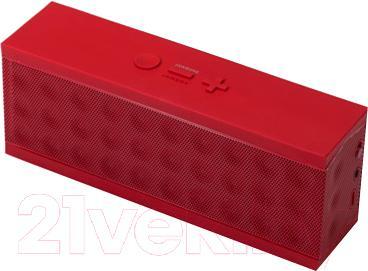Портативная колонка Jawbone Jambox JBE02-EMEA4 (красный) - вид сверху