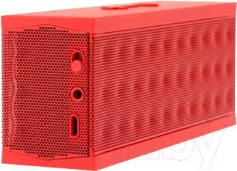 Портативная колонка Jawbone Jambox JBE02-EMEA4 (красный) - общий вид