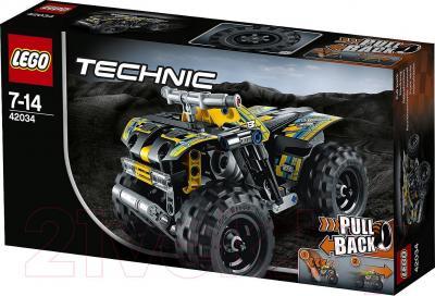 Конструктор Lego Technic Квадроцикл (42034) - упаковка