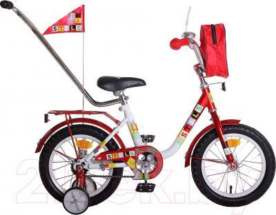 Детский велосипед Stels Flash 12 (Red-White) - общий вид
