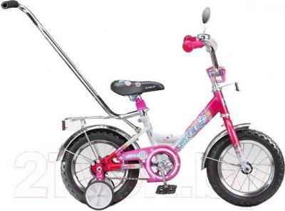 Детский велосипед Stels Magic 12 (Pink-White) - общий вид