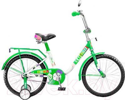 Детский велосипед Stels Flash 14 (Green) - общий вид