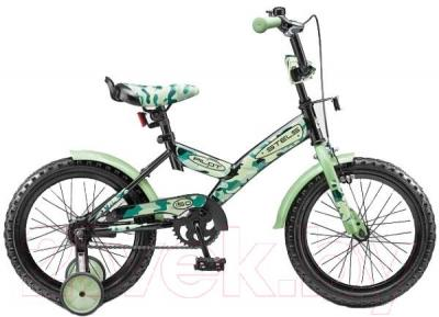 Детский велосипед Stels Pilot 150 (16, зеленый) - общий вид