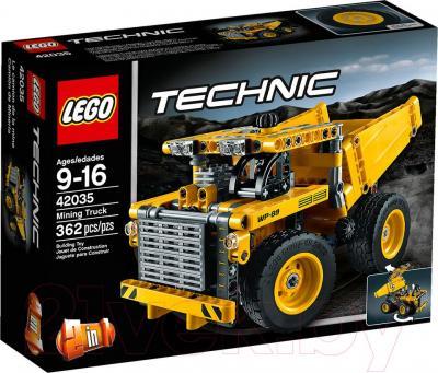Конструктор Lego Technic Карьерный грузовик (42035) - упаковка