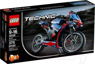 Конструктор Lego Technic Спортбайк (42036) - упаковка