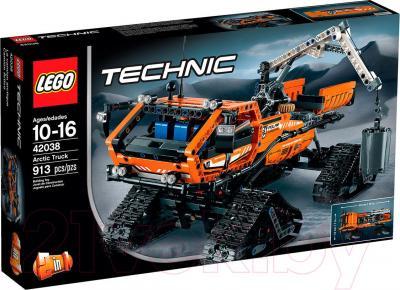 Конструктор Lego Technic Арктический вездеход (42038) - упаковка