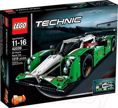 Конструктор Lego Technic Гоночный автомобиль (42039) - упаковка