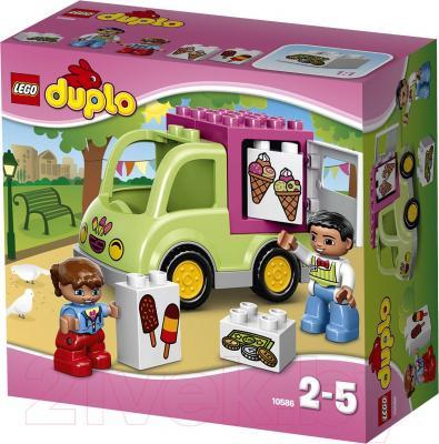 Конструктор Lego Duplo Фургон с мороженым (10586) - упаковка
