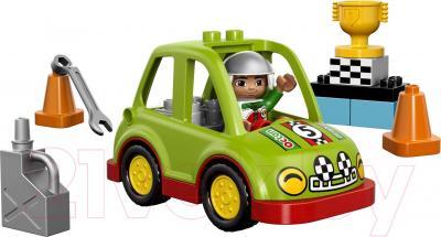Конструктор Lego Duplo Гоночный автомобиль (10589) - общий вид