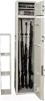Оружейный сейф Valberg ШХО-1380Э/2 - открытый